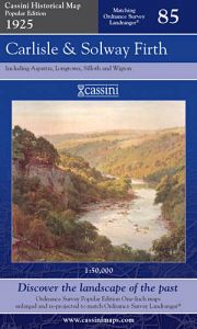 Cassini Popular Edition - Carlisle & Solway Firth (1925)