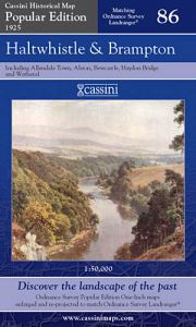 Cassini Popular Edition - Haltwhistle & Brampton (1925)