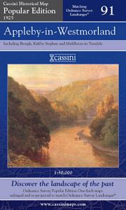 Cassini Popular Edition - Appleby-in-Westmorland (1925)