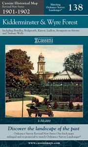 Cassini Revised New - Kidderminster & Wyre Forest (1901-1902)