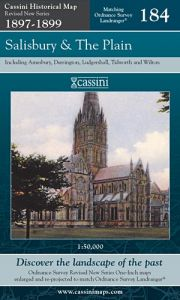 Cassini Revised New - Salisbury & The Plain (1897-1899)
