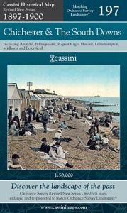 Cassini Revised New - Chichester & The South Downs (1897-1900)