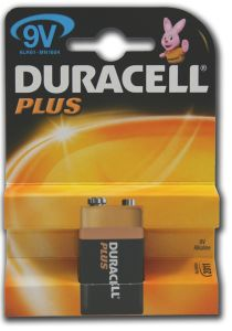 Duracell Plus Power Batteries - 9V - Single Pack