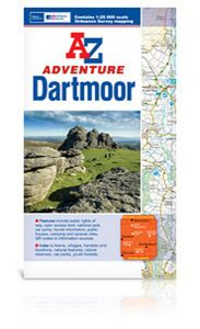 A-Z Adventure Atlas - Dartmoor