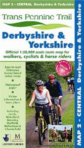 Trans Pennine Trail - Map 2 - Central - Derbyshire & Yorkshire