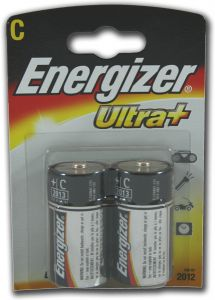 Energizer Ultra+ Batteries - C - Single Pack (2)