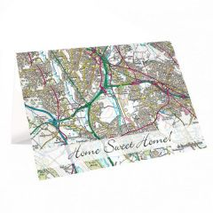 Cassini Personalised Map Greeting Cards