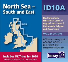 Imray ID Chart (Digital) - North Sea with UK Tide Information (ID10A)