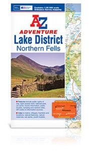 A-Z Adventure Atlas - Lake District (Northern Fells)