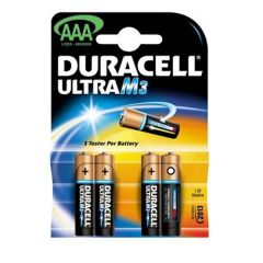 Duracell Ultra Power Batteries - AAA - Single Pack (4)