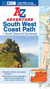 A-Z Adventure Atlas - South West Coast Path North Devon & Somerset (1)