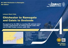 Admiralty Leisure Chart Folio - Chichester to Ramsgate