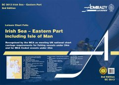 Admiralty Leisure Chart Folio - Irish Sea: Eastern Part Inc IOM