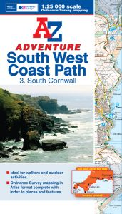 A-Z Adventure Atlas - South West Coast Path South Cornwall (3)