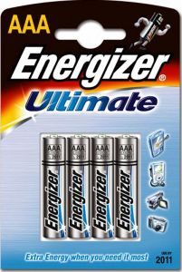 Energizer Hi Tech Batteries - AAA - Single Pack (4)