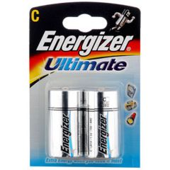 Energizer Ultimate Batteries - C - Single Pack (2)