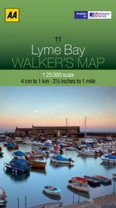 AA - Walker's Map 11 - Lyme Bay