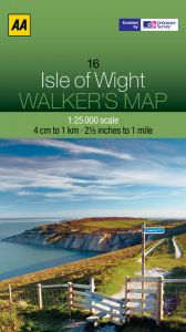 AA - Walker's Map 16 - Isle Of Wight