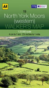 AA - Walker's Map 19 - North York Moors (western)
