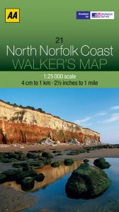AA - Walker's Map 21 - North Norfolk Coast
