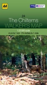 AA - Walker's Map 24 - The Chilterns