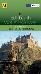 AA - Walker's Map 27 - Edinburgh