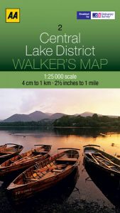 AA - Walker's Map 2 - Central Lake District