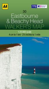 AA - Walker's Map 30 - Eastbourne & Beachy Head