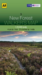 AA - Walker's Map 3 - New Forest