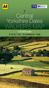 AA - Walker's Map 7 - Central Yorkshire Dales