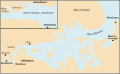 Imray Y Chart - River Medway & Approaches (Y18)