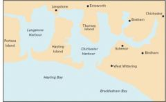 Imray Y Chart - Langstone & Chichester Harbour (Y33)