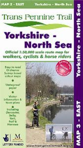 Trans Pennine Trail - Map 3 - East - Yorkshire to North Sea