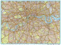 A-Z London Master Plan - Centre Map