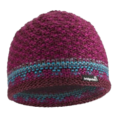 Bridgedale Chai Burgundy & Berry Wool Hat - One Size