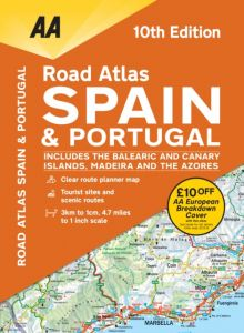 AA - Road Atlas - Spain