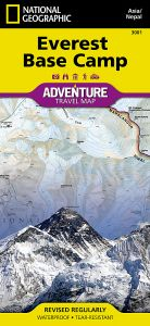 National Geographic - Adventure Map - Everest Base Camp