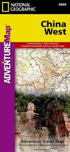 National Geographic - Adventure Map - China West