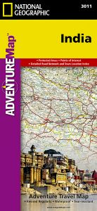 National Geographic - Adventure Map - India