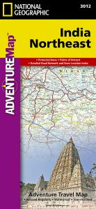 National Geographic - Adventure Map - India Northeast