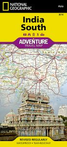 National Geographic - Adventure Map - India South
