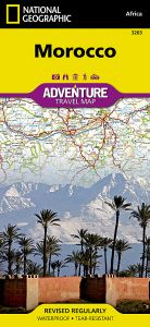 National Geographic - Adventure Map - Morocco