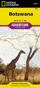 National Geographic - Adventure Map - Botswana
