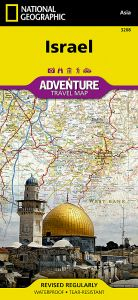 National Geographic - Adventure Map - Israel