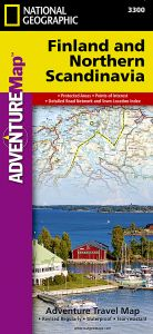 National Geographic - Adventure Map - Finland & Northern Scandinavia