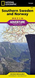 National Geographic - Adventure Map - Southern Sweden & Norway