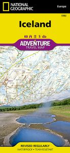 National Geographic - Adventure Map - Iceland