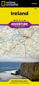 National Geographic - Adventure Map - Ireland