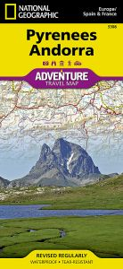 National Geographic - Adventure Map - Pyrenees & Andorra