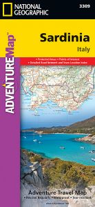 National Geographic - Adventure Map - Sardinia